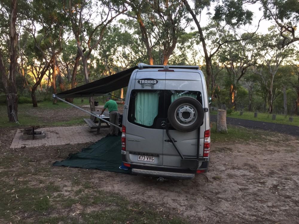 dangars gorge campsite