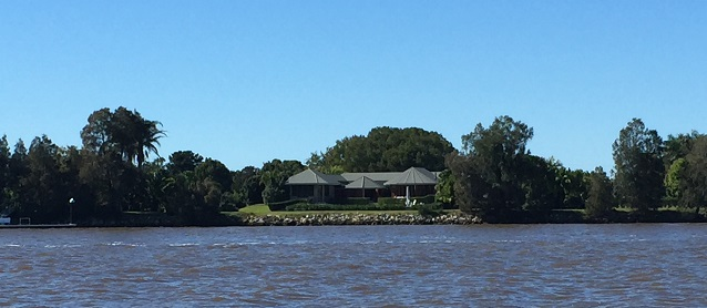 Classy riverside homes between Iluka and Harwood.