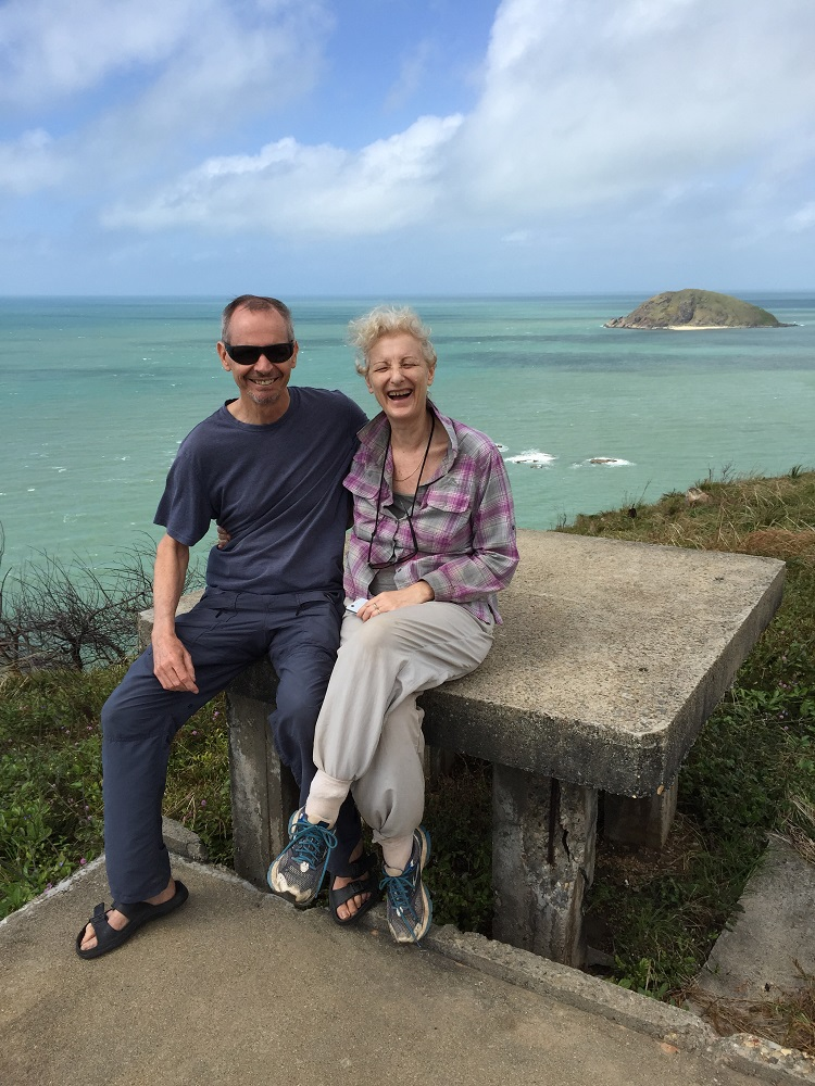 Ric and Gill. Archers Point Lighthouse