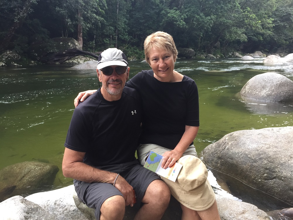 A fine looking couple at Mossman Gorge.