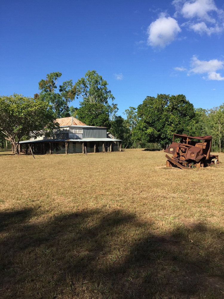 The Old Laura Homestead. We camped not far from here near the river crossing.