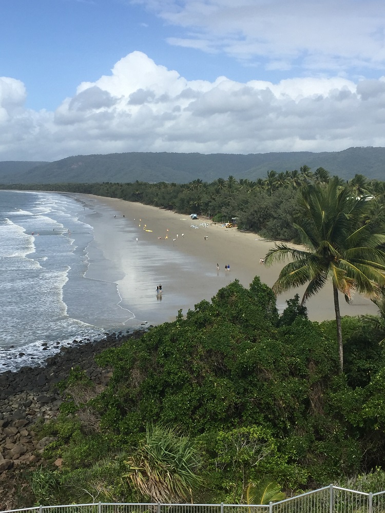 Beautiful Port Douglas, from the lookout.