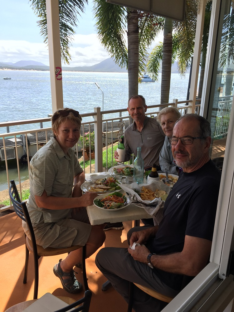 Loved our lunch on the Verandah Cafe. What a great spot!