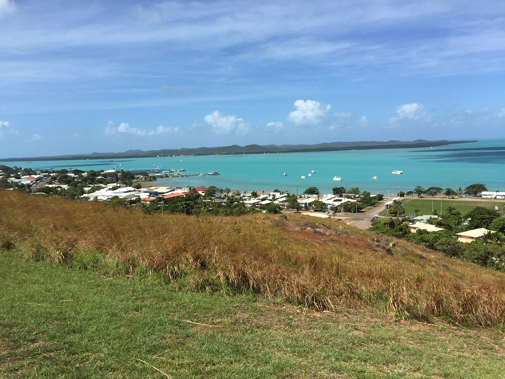 The township on Thursday Island.