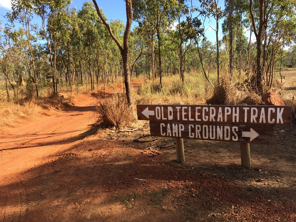 The notorious Old Telegraph Track starts at Bramwell Junction Roadhouse.