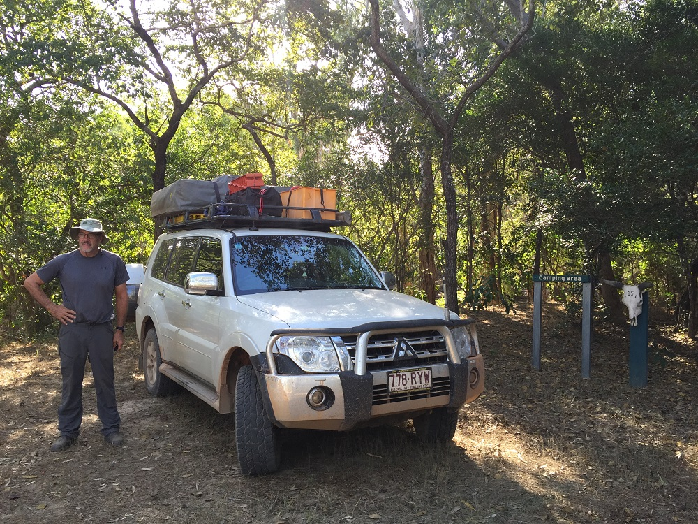 Well, will this spot do Denise? Our campsite at Coen 2, Oyala Thumotang NP.