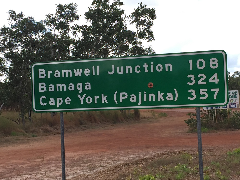 That's where we're ultimately headed! I like the name Pajinka - nicer than Cape York, or 'the Tip' as most people call it.