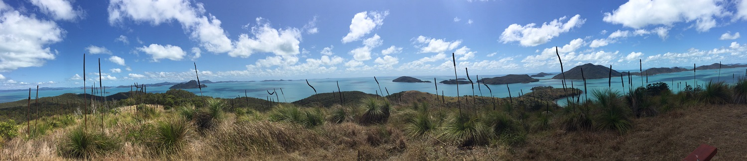 Panorama from Mt Oldfield.