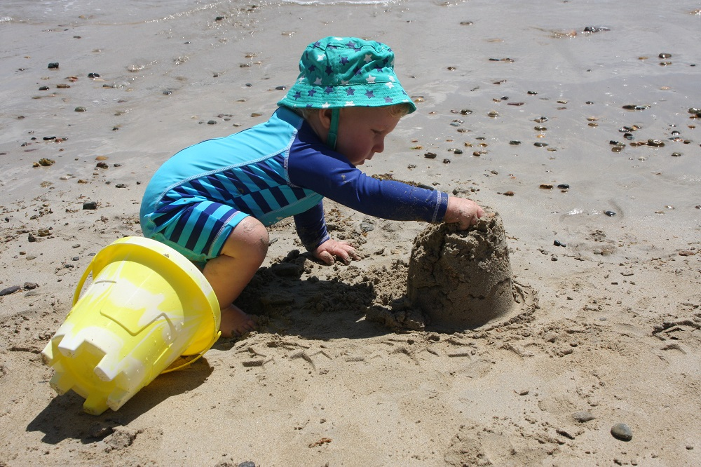 The fate of all good sandcastles.