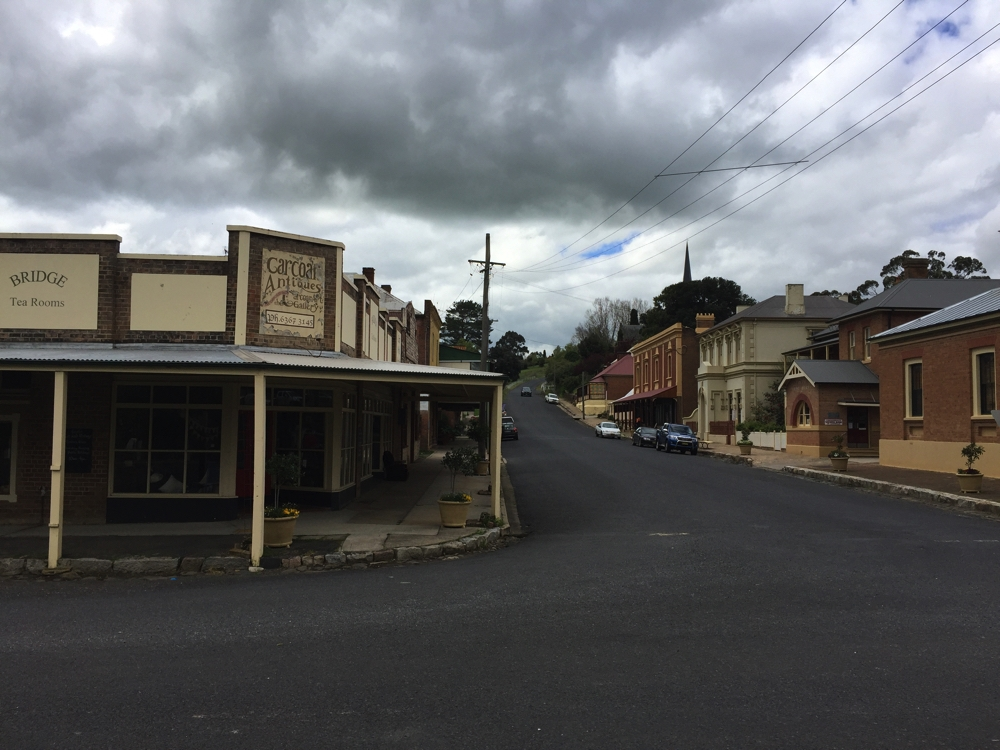 The town of Carcoar had many well-preserved older buildings, but as it's the weekend nothing was open.