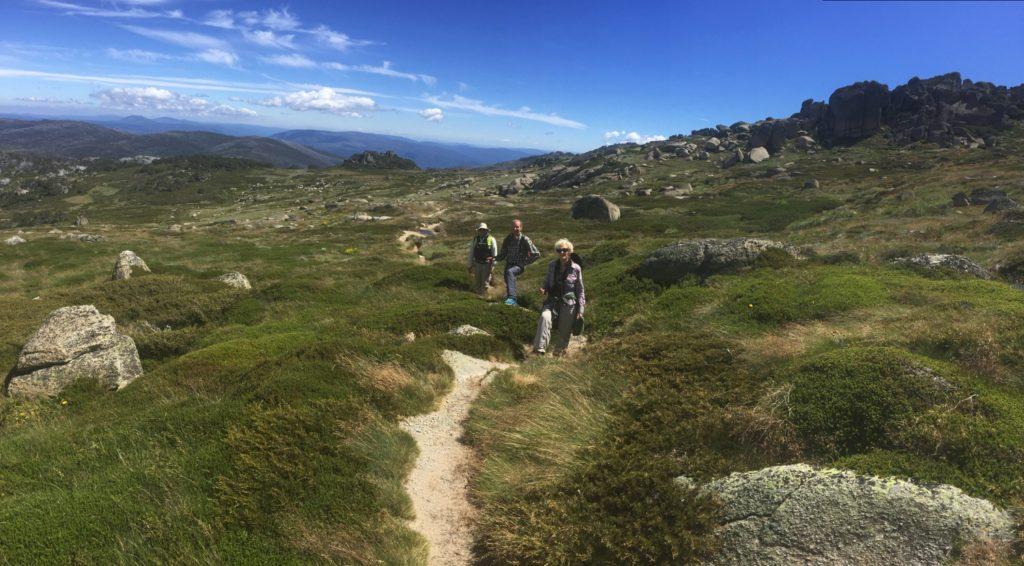 The Dead Horse Gap Track. Gill, Ric, Steve.