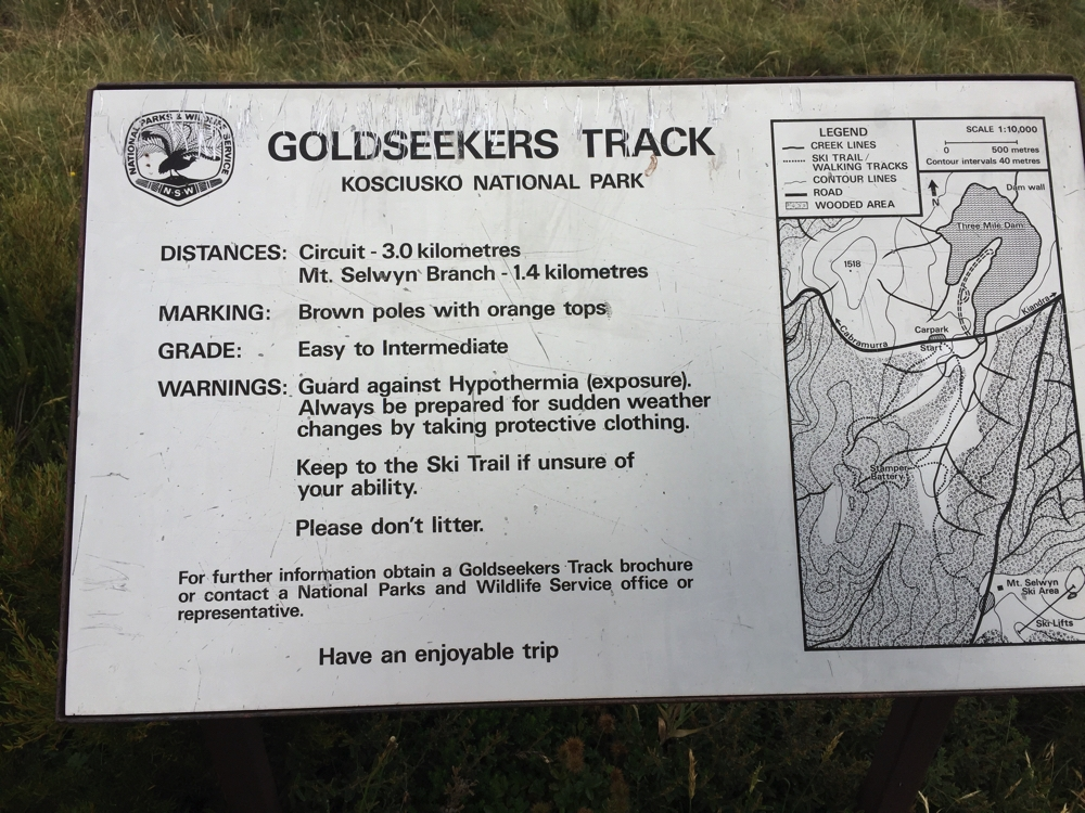 The Goldseekers walk.