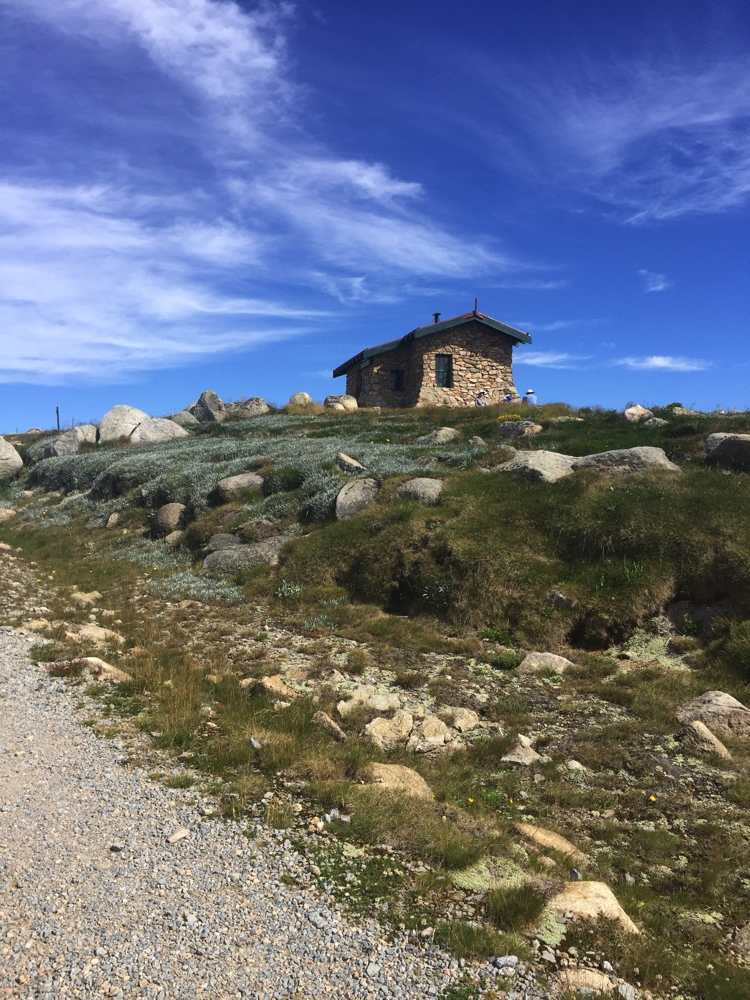 Seamans Hut, on the Kosiuzsko Summit walk.