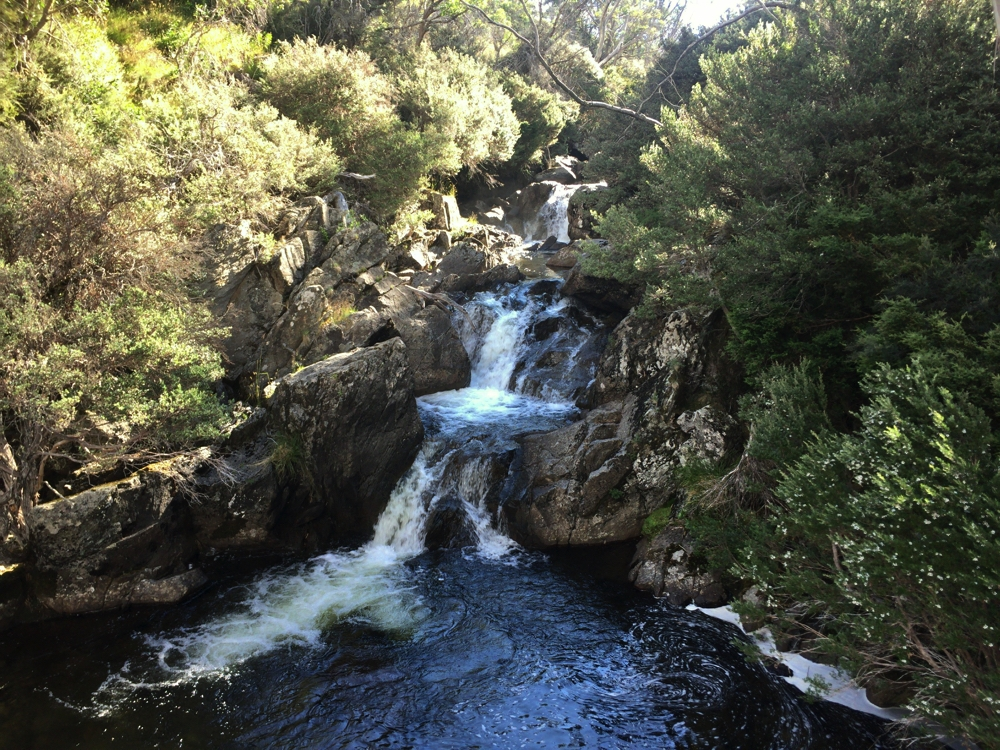 Falls, on the Thredbo River.