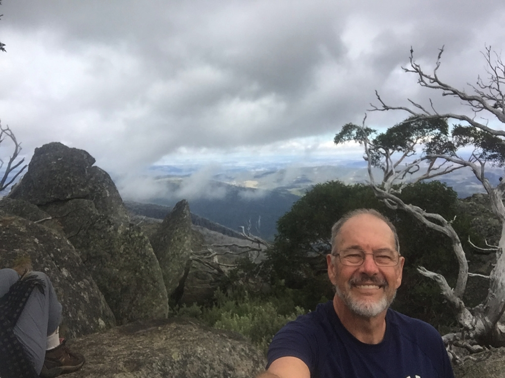 Selfie on Porcupine Rocks.