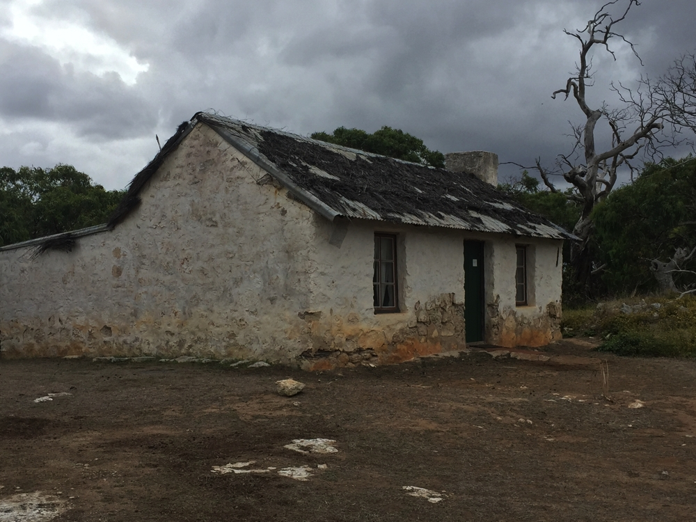 The old Mikkira Homestead. It used to have a thatched roof. Just 2 bedrooms, kitchen and lounge.