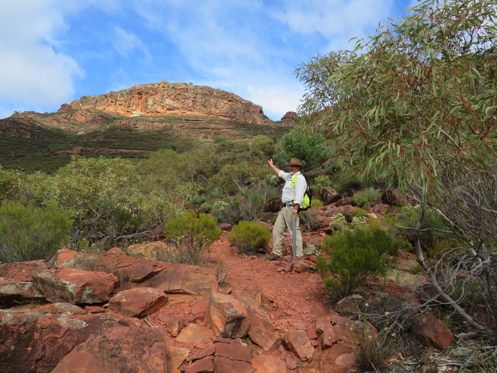Thanks Steve - good to know where we're going. St Mary's Peak.