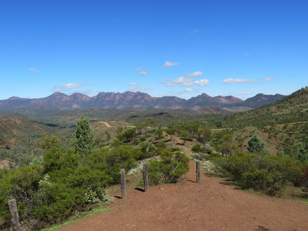 Views on the Bunyeroo Scenic Drive