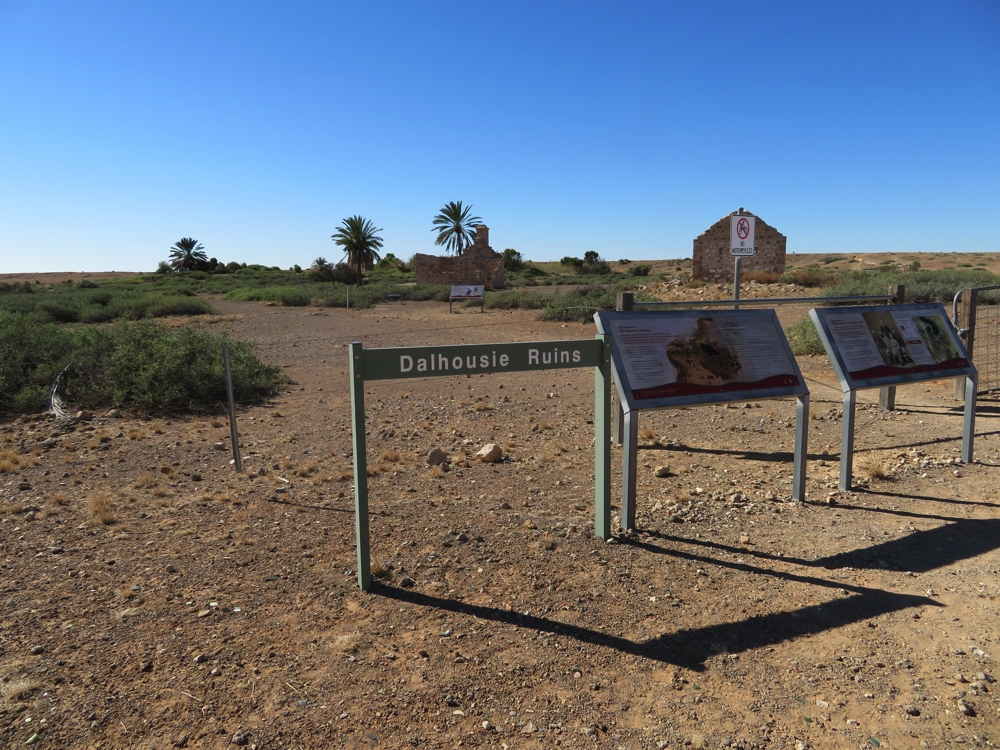 Dalhousie Station ruins.