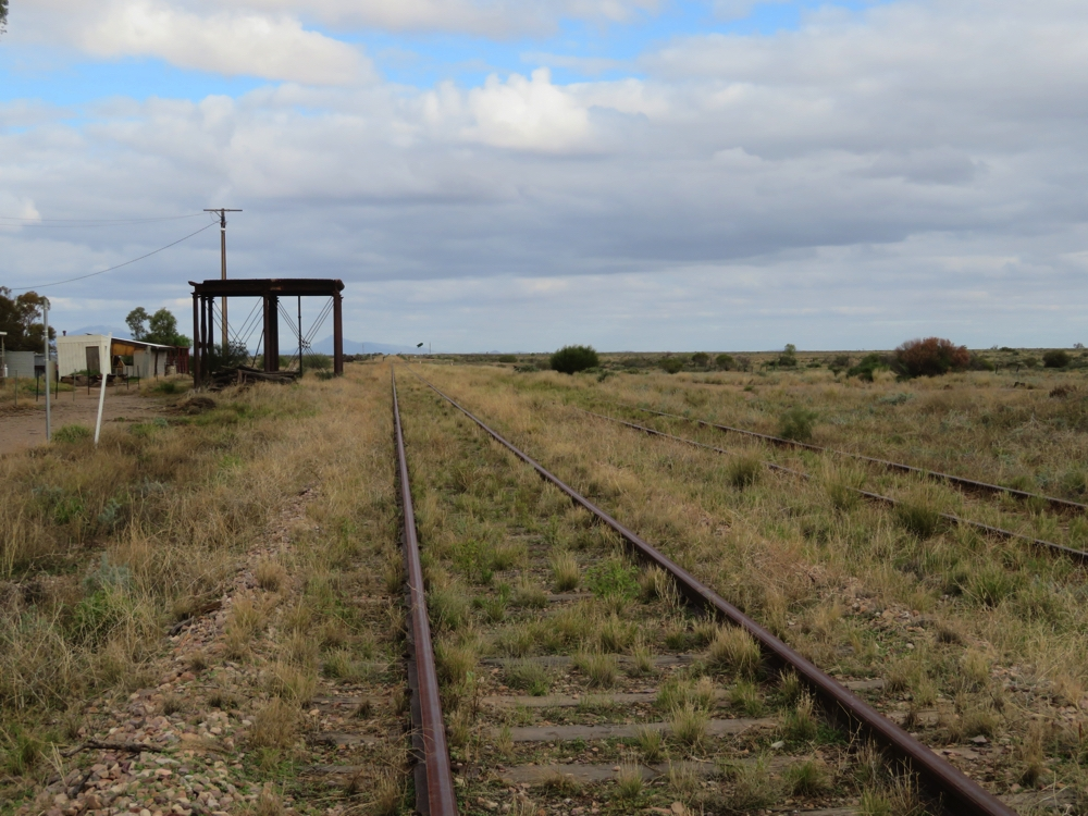 First the Ghan line, then the Leigh Creek coal line - both closed.