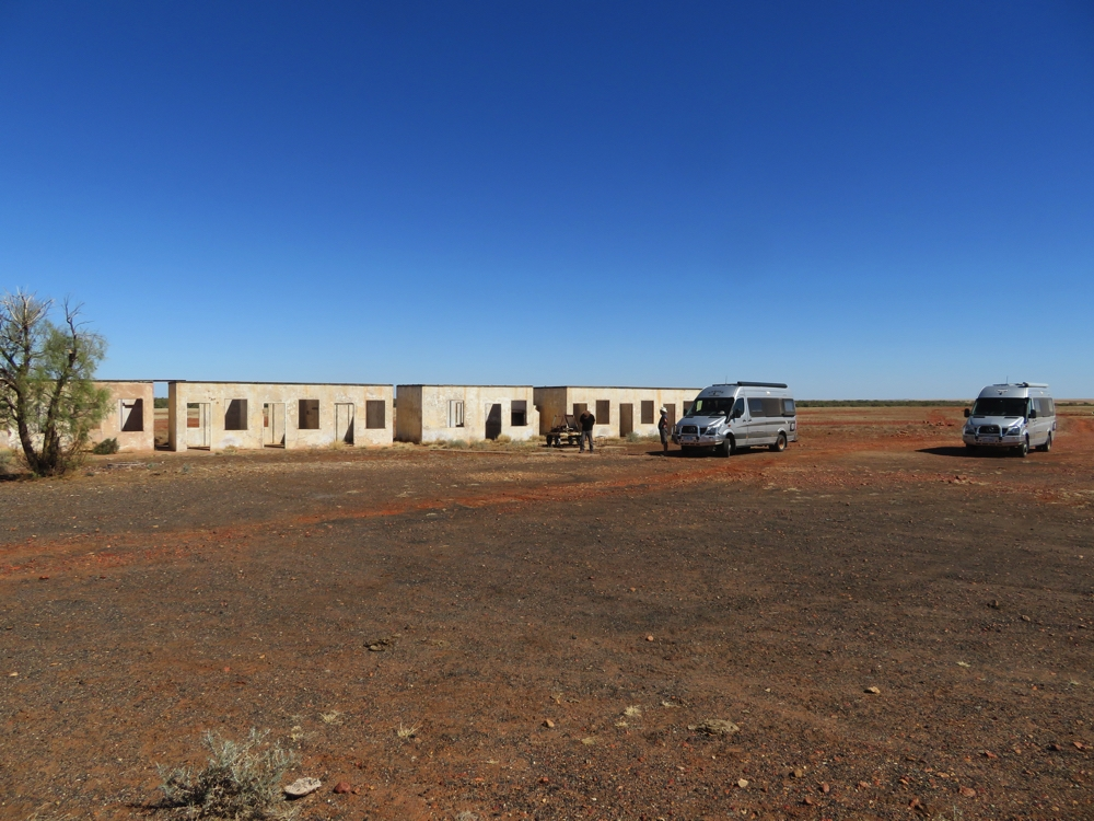 The single men's accommodation for the Fettlers who maintained the Ghan railway line.