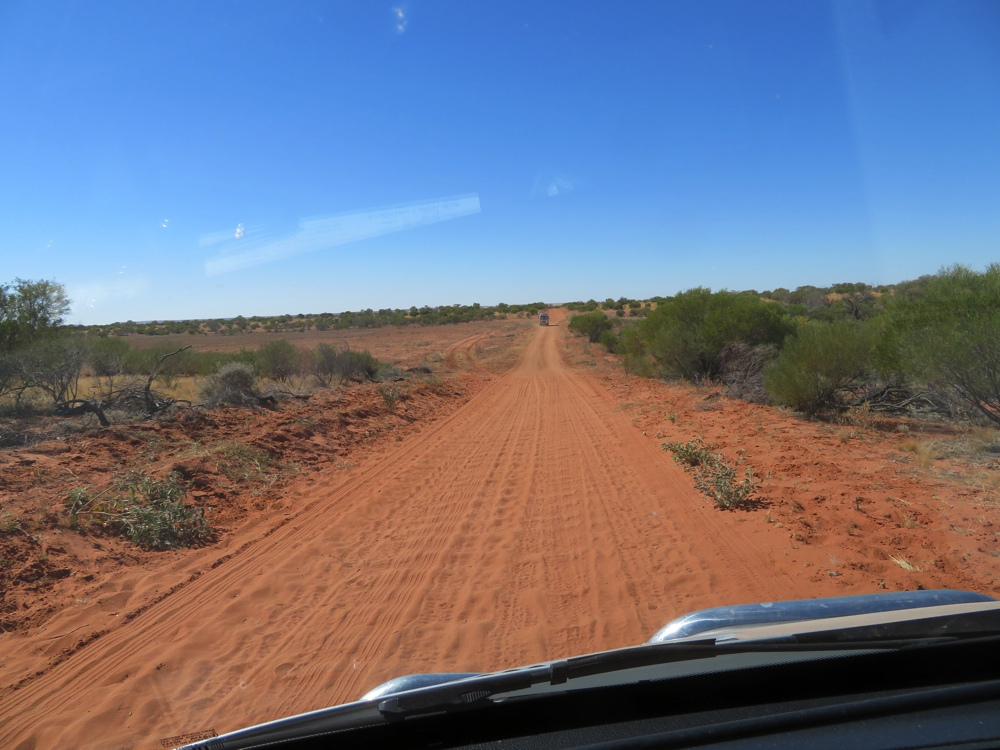 Road conditions - corrugations!