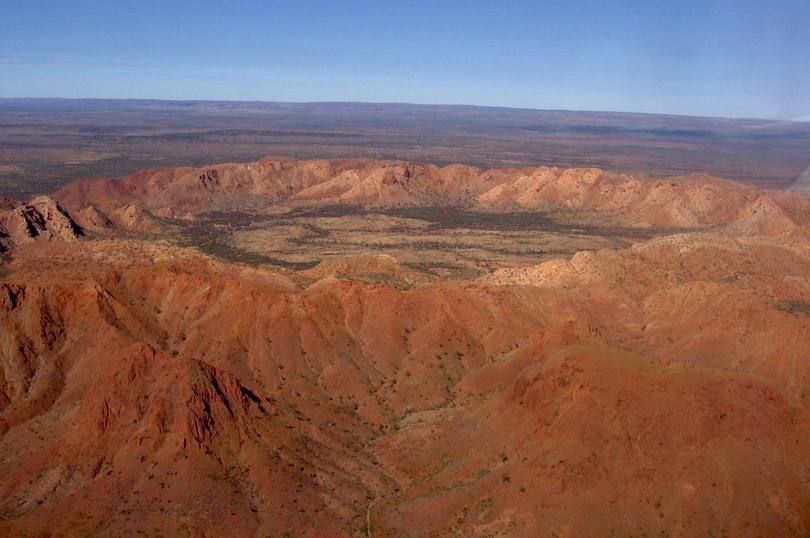 Gosses Bluff Crater - with thanks to wiki commons