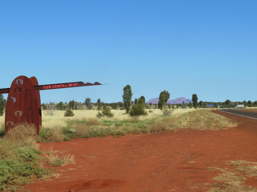The end of the Red Centre Way