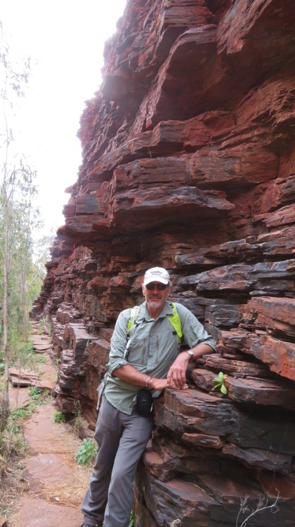 The amazing rock walls of Weano Gorge.