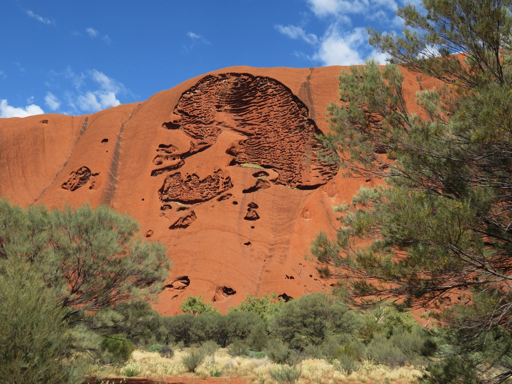 I'd love to know the aboriginal creation story behind this aspect on Uluru