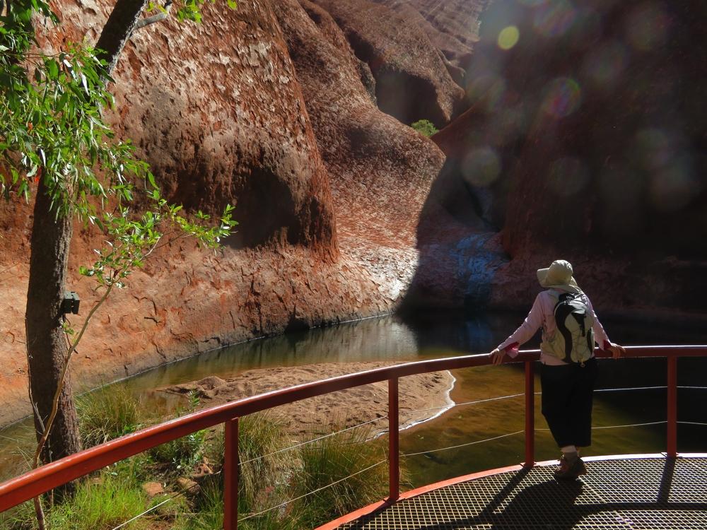 Contemplation pool - Uluru