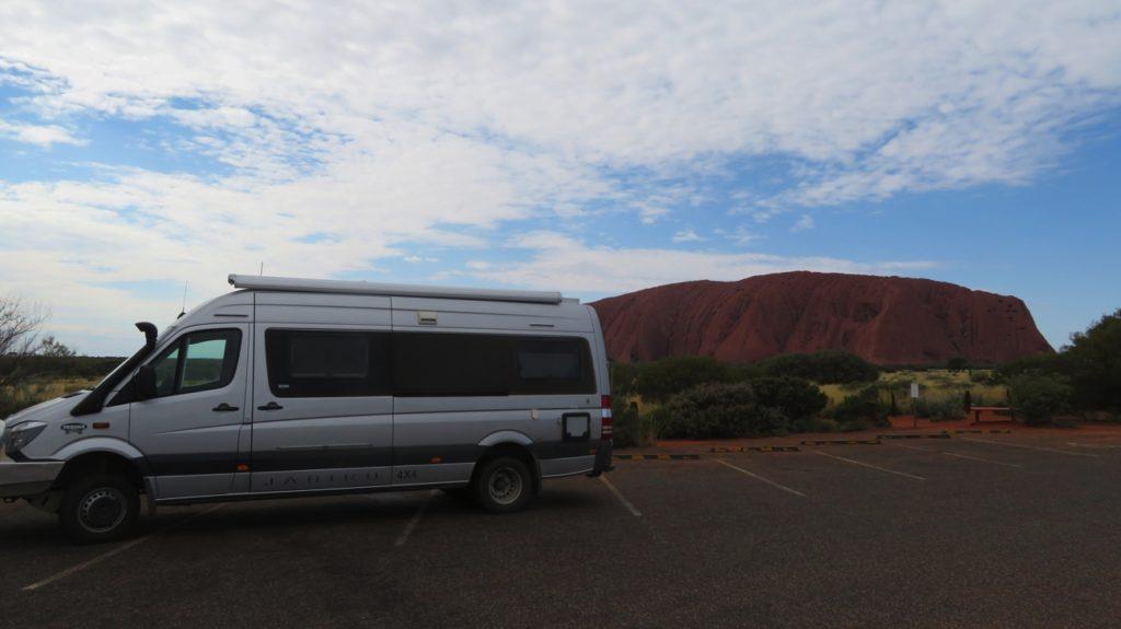 Yep, we're at Uluru.