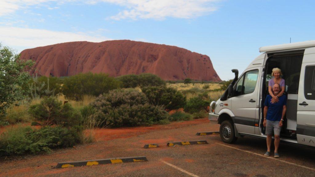 A happy time at Uluru.