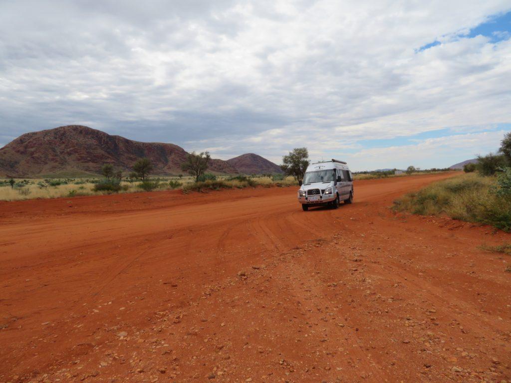 Krakka Trakka about to leave the Northern Territory.