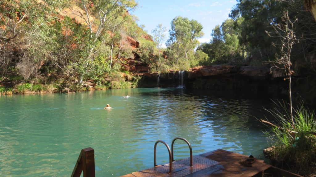 Fern Pool, Dales Gorge.