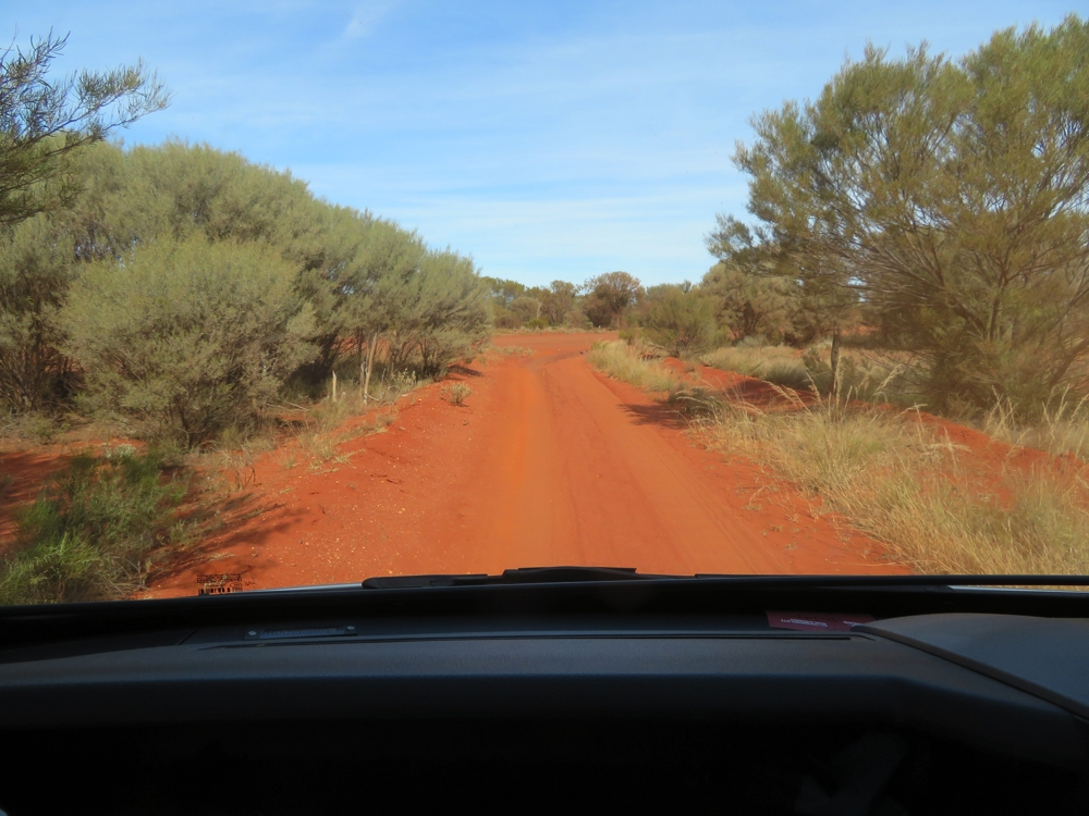 Lovely little road led us out of Cosmo Newberry.
